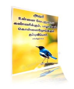 and from the noisome pestilence. (Tamil) - Laminated Poster