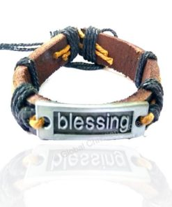 Blessing Leather Bracelet
