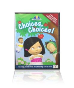 Choices Choices : Tackling Temptations by Choosing God's Best (Episode 15) Cherub Wings