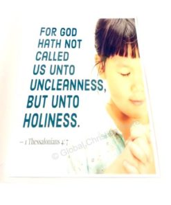 but unto holiness.