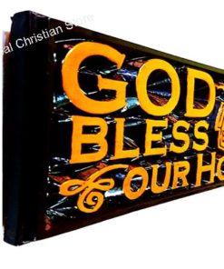 God Bless our Home - Wooden