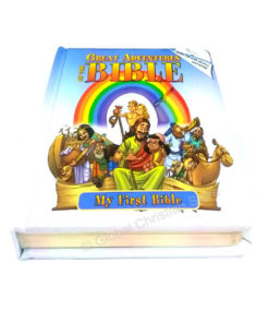 Great Adventures of the Bible with Audio CD