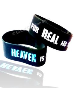Heaven is for real - Silicone Bracelet