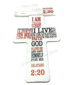 I am Crucified with Christ - Fridge Magnet