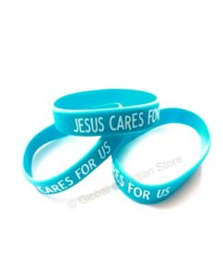 Wristbands - JESUS CARES FOR US