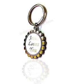Keychain - Jesus Loves You