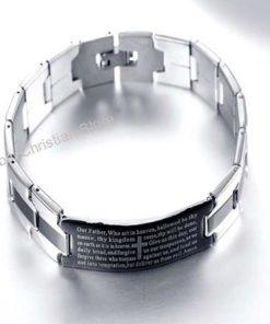 Men's Bracelet - Trendy Jesus Christian Cross Sign Fashion Jewelry