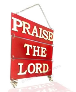 Praise the Lord Wall Hanging