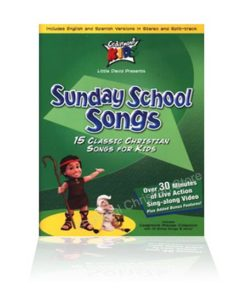 Cedarmont Kids Sunday School Songs