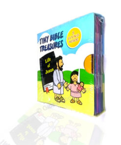 Tiny Bible Treasures - Life of Jesus (A set of 8 booklets in a box)