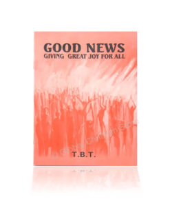Good News Giving Great Joy for All