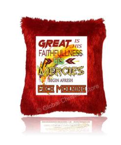 Great is his faithfullness Cushion