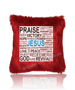 Praise Unity Collage Cushion