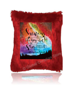The Heavens Declare Cushion